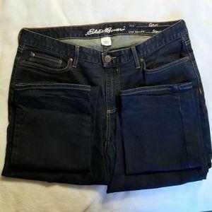 Eddie Bauer Curvy Straight Jeans